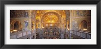Framed San Marcos Cathedral, Venice, Italy (wide angle)