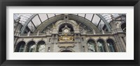 Framed Low angle view of a building, Antwerp, Belgium