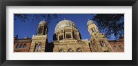 Framed Low Angle View Of Jewish Synagogue, Berlin, Germany