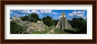 Framed Ruins Of An Old Temple, Tikal, Guatemala