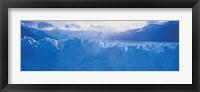 Framed Glacier in a national park, Moreno Glacier, Los Glaciares National Park, Patagonia, Argentina