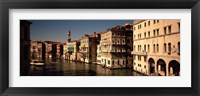 Framed Buildings on the waterfront, Venice, Italy