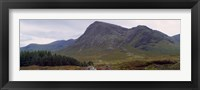 Framed Mountains On A Landscape, Glencoe, Scotland, United Kingdom