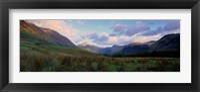 Framed Mountains On A Landscape, Glen Nevis, Scotland, United Kingdom