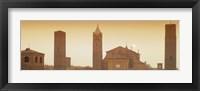 Framed Buildings in a city, Bologna, Italy