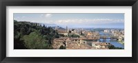 Framed High Angle View of Florence, Tuscany, Italy