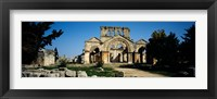 Framed Old ruins of a church, St. Simeon The Stylite Abbey, Aleppo, Syria