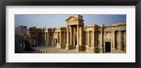 Framed Facade of a building, Palmyra, Syria