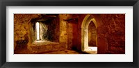 Framed Interiors of a castle, Blarney Castle, Blarney, County Cork, Republic Of Ireland
