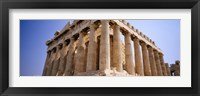 Framed Old ruins of a temple, Parthenon, Acropolis, Athens, Greece