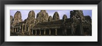 Framed Facade of an old temple, Angkor Wat, Siem Reap, Cambodia