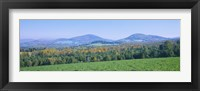 Framed Mountains in Northeast Kingdom, Vermont
