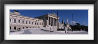 Framed Parliament Building in Vienna, Austria