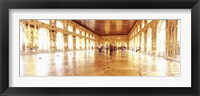 Framed Group of people inside a ballroom, Catherine Palace, Pushkin, St. Petersburg, Russia