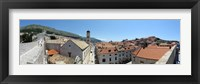 Framed High angle view of buildings, Minceta Tower, Dubrovnik, Croatia