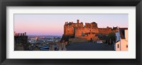 Framed Castle in a city, Edinburgh Castle, Edinburgh, Scotland