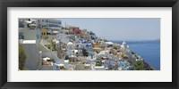 Framed Houses in a city, Santorini, Cyclades Islands, Greece