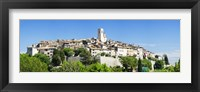 Framed Low angle view of a walled city, Saint Paul De Vence, Provence-Alpes-Cote d'Azur, France