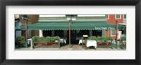 Framed Facade of a restaurant, Burano, Venice, Veneto, Italy