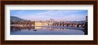 Framed Charles Bridge, Prague, Czech Republic