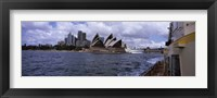 Framed Buildings at the waterfront, Sydney Opera House, Sydney Harbor, Sydney, New South Wales, Australia
