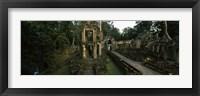 Framed Preah Khan, Angkor, Cambodia