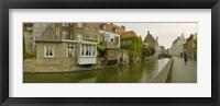 Framed Bruges, West Flanders, Belgium