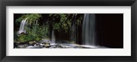 Framed Waterfall near Dunsmuir, California