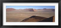 Framed Sand dunes, Namib Desert, Namibia