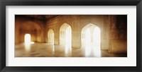 Framed Interiors of a hall, Agra Fort, Agra, Uttar Pradesh, India