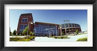 Framed Facade of a stadium, Lambeau Field, Green Bay, Wisconsin, USA