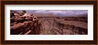 Framed River Passing Through, North Rim, Grand Canyon National Park, Arizona, USA