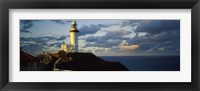 Framed Lighthouse at the coast, Broyn Bay Light House, New South Wales, Australia