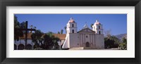 Framed Facade of a mission, Mission Santa Barbara, Santa Barbara, California, USA