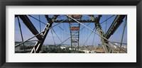 Framed Ferris wheel frame, Prater Park, Vienna, Austria