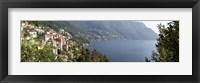 Framed View of Lake Como