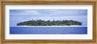 Framed Island in the sea, Indonesia