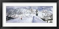 Framed Snowbird Ski Resort, Utah
