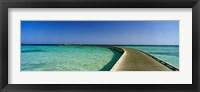 Framed Soma Bay Pier, Hurghada, Egypt