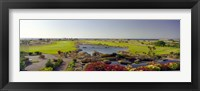 Framed Pond in a golf course, The Cascades Golf & Country Club, Soma Bay, Hurghada, Egypt