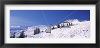 Framed Ski resort, Reith Im Alpbachtal, Tyrol, Austria