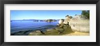 Framed Boulders at the Coast, Lake Tahoe, California