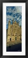 Framed Facade of a cathedral, Duomo Di Orvieto, Orvieto, Umbria, Italy