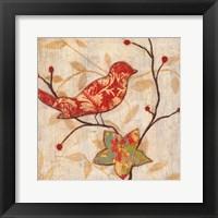 Framed Song Bird Revisited I