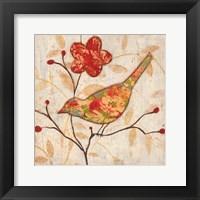 Framed Song Bird Revisited II