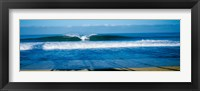Framed Waves in the ocean, North Shore, Oahu, Hawaii