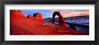 Framed Delicate Arch, Arches National Park, Utah