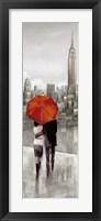 New York Stroll Framed Print