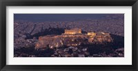 Framed Acropolis of Athens, Athens, Attica, Greece