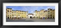 Framed Piazza Dell'Anfiteatro, Lucca, Tuscany, Italy